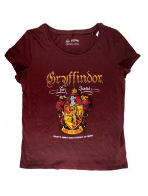 Camiseta Escudo Gryffindor Harry Potter