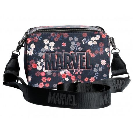 Bolso Bandolera Marvel Flores