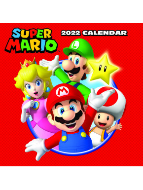 Calendario 2022 Super Mario