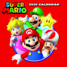 Calendario de pared 2022 Super Mario Nintendo