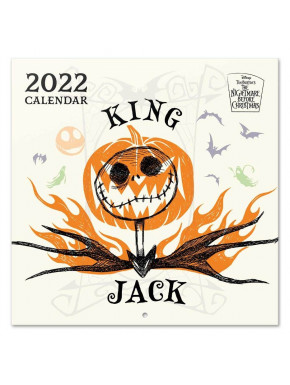 Calendario 2022 Pesadilla Antes de Navidad