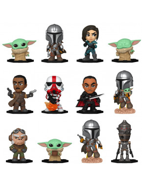 Star Wars: The Mandalorian Mystery Minis Minifiguras 5 cm Expositor Specialty Series (12)