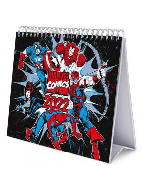 Calendario de Mesa Marvel 2022