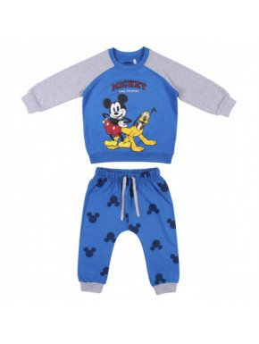CHANDAL 2 PIEZAS COTTON BRUSHED MICKEY