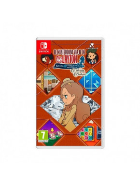 JUEGO NINTENDO SWITCH LAYTON S MYSTERY JOURNEY DELUXE
