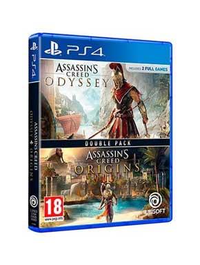 JUEGO SONY PS4 COMPILACION AC ORIGINS + ODISSEY