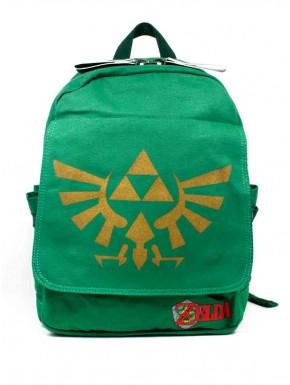 Zelda mochila canvas verde