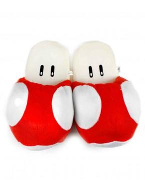 Super Mario zapatillas Mushroom