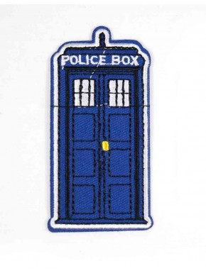 Doctor Who Parche  Tardis