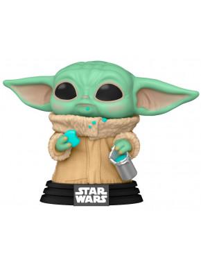 Funko Pop! Baby Yoda con galletas