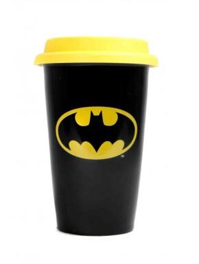 Taza de viaje Batman logo