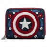 Cartera Loungefly Capitán América 80 Aniversario Marvel