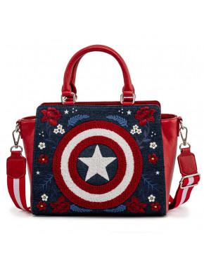 bolso Loungefly Capitán America 80 aniversario