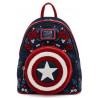 Bolso mochila Loungefly Capitán América 80 Aniversario Marvel