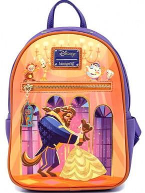 Mochila Baile La Bella y la Bestia Disney Loungefly 28cm