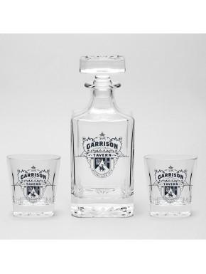Set Botella y Vasos Peaky Blinders