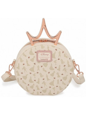 Disney by Loungefly Bandolera Ultimate Princess Metal Crown
