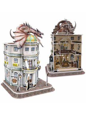 Puzzle 3D Banco de Gringotts Harry Potter