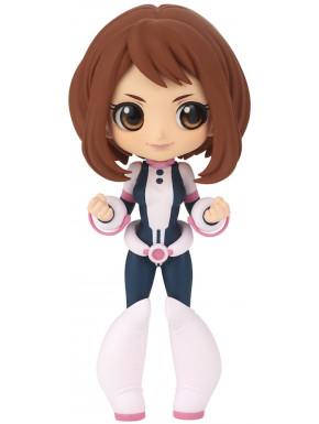 My Hero Academia Minifigura Q Posket Ochaco Uraraka Ver. A 14 cm