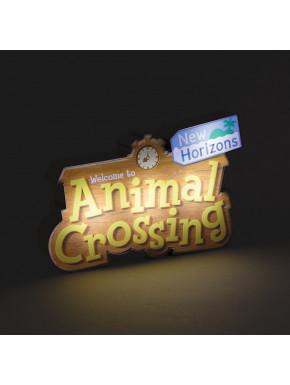 Lámpara Nintendo Logo Animal Crossing