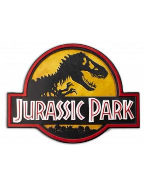 Cartel de Metal Jurassic Park