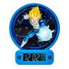 Reloj Despertador Dragon Ball Vegeta con Luz