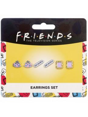 Pack de 3 Pendientes Friends