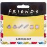 Set de 3 Pendientes Friends