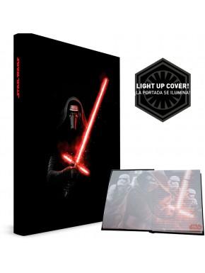 Star Wars Sable libreta con luz y sonido Kylo Ren