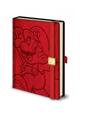 Super Mario libreta premium Mario