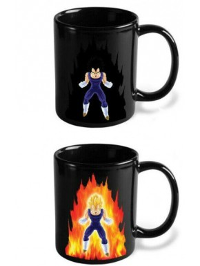 Dragon Ball Taza térmica Vegeta
