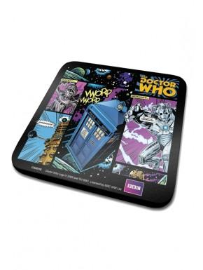 Doctor Who set 6 Posavasos Comic