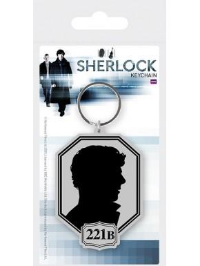 Llavero Sherlock caucho