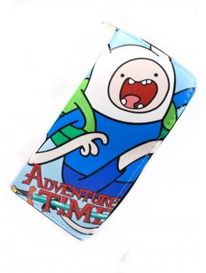 Hora de Aventuras cartera billetera Finn el humano