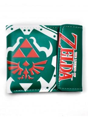 Zelda cartera trifuerza roja