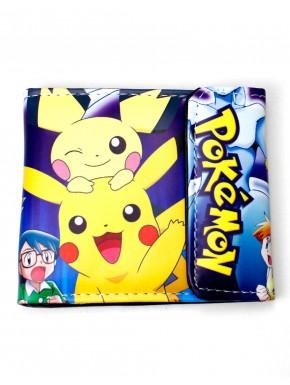 Pokemon cartera Pichu y Pikachu
