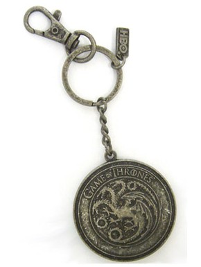 Llavero escudo Targaryen Juego de Tronos