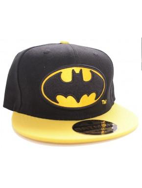 Gorra Batman visera amarilla
