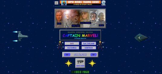 Una web viejuna para la capitana