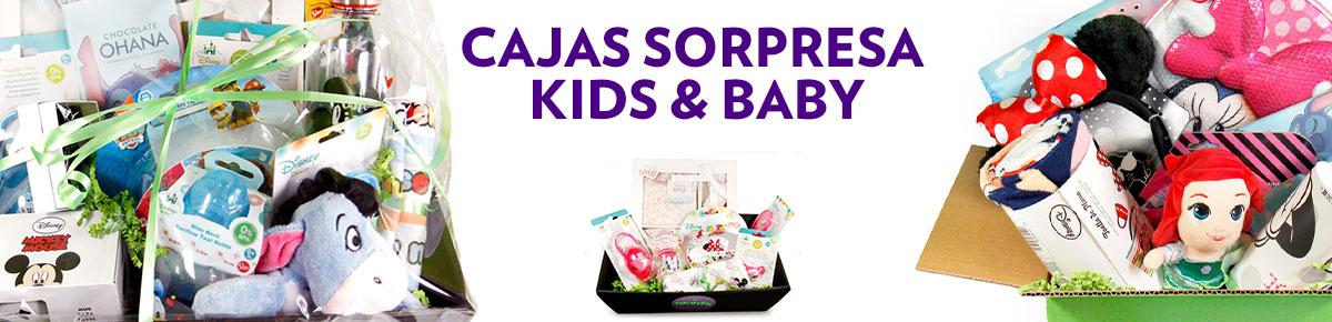 Cajas y canastillas sorpresa KIDS