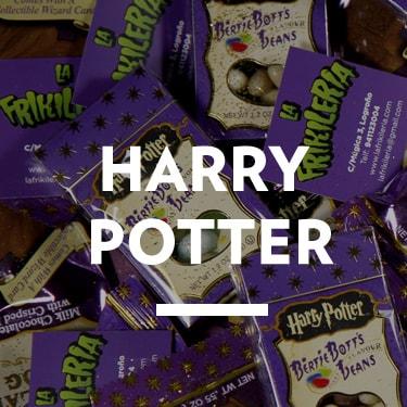 Cosas de Harry Potter, Hermione, Ron, Hagrid, Luna...