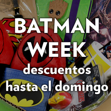 Batman week, descuentos en superheroes