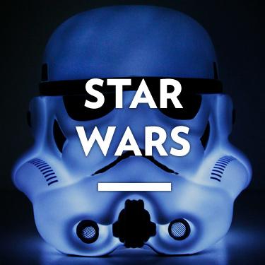 Star wars, la guerra de las galaxias, chorrocientas cosas de hansolo, r2d2, Darth vader...